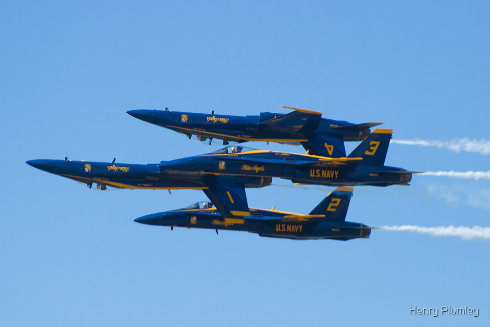 Blue Angels Double Farvel 2010  by Henry Plumley