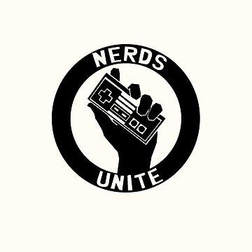 NES NERDS UNITE! by AlexNoir