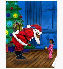 """""""Gift For Santa"""" Poster"""