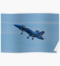 Blue Angels Solo #5 Dirty Take Off Poster