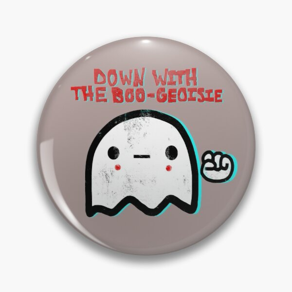 Down with the Boo-geosie Pin