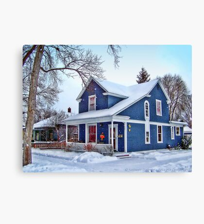 Giving Thanks for the Holiday Season Canvas Print