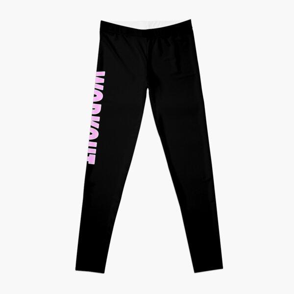 Workout - Black Leggings and Fitness Clothing Leggings