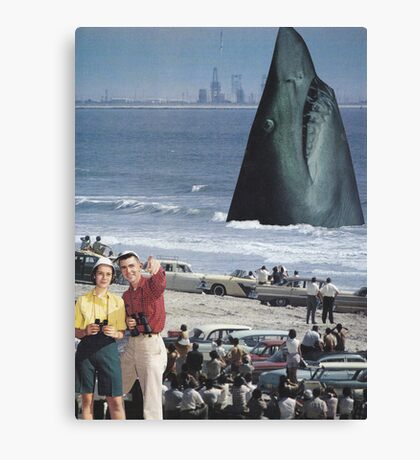 ' Open Jaws' Canvas Print