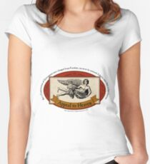 Appeal to Heaven - John Adams Quote Women's Fitted Scoop T-Shirt