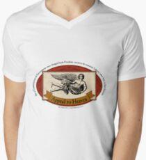 Appeal to Heaven - John Adams Quote Men's V-Neck T-Shirt