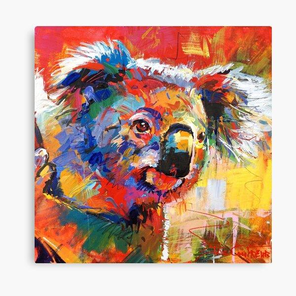 Curious Koala Canvas Print