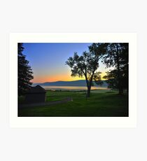 Cooperstown, NY Art Print