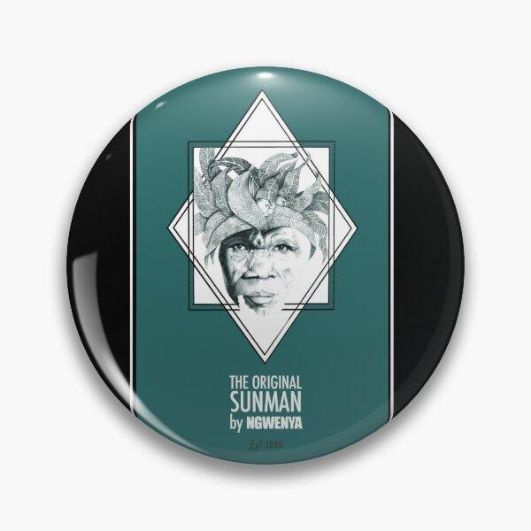 Sun Man Diamond collection Pin