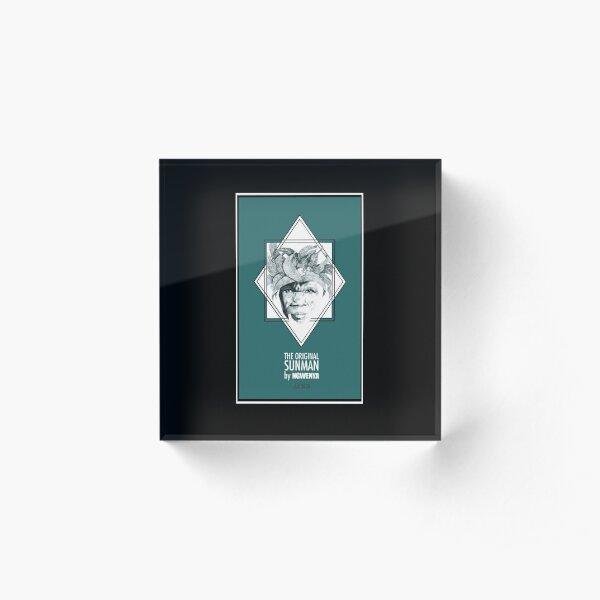 Sun Man Diamond collection Acrylic Block