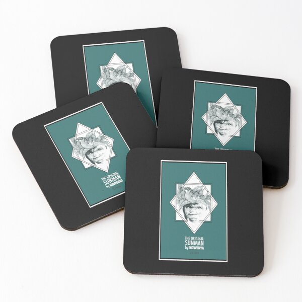 Sun Man Diamond collection Coasters (Set of 4)