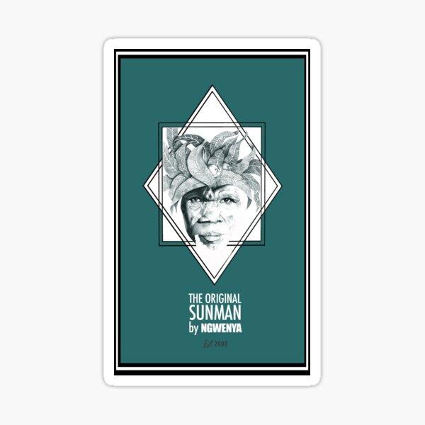 Sun Man Diamond collection Sticker