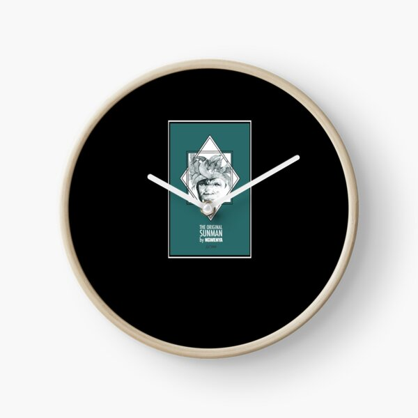 Sun Man Diamond collection Clock