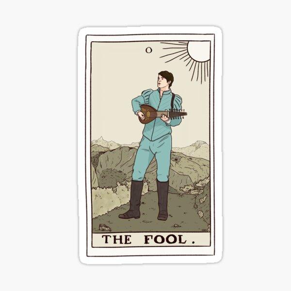 Jaskier, das Narrentarot Sticker
