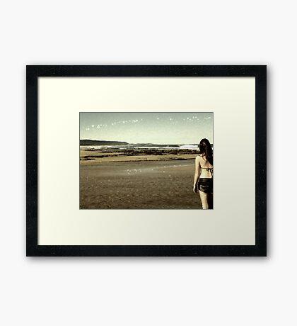 My Love Will Follow Framed Print