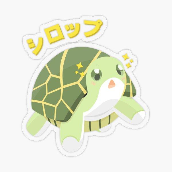 Syrup the Turtle - BOFURI Transparent Sticker