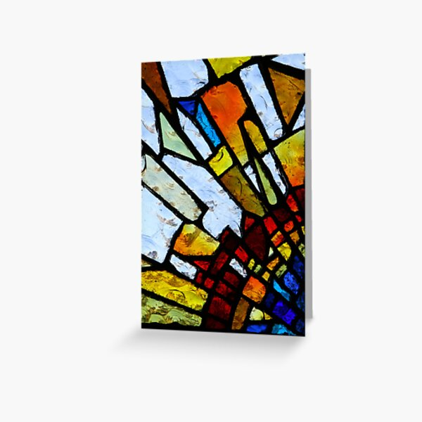 Stain Glass 2 Greeting Card