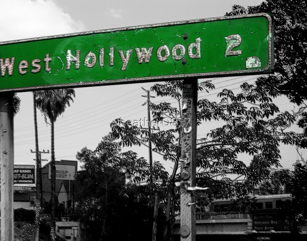west hollywood sign by heather0817