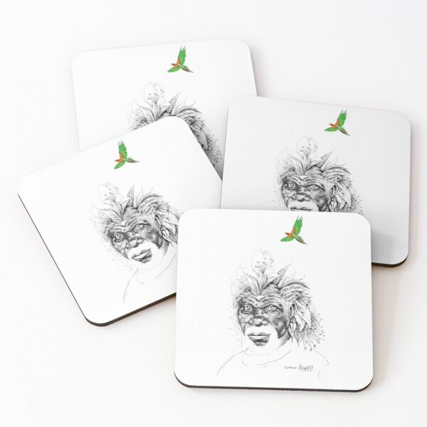 Sunkissed Sunman Coasters (Set of 4)