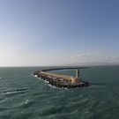 Leaving Port - Livorno Italy by mikequigley