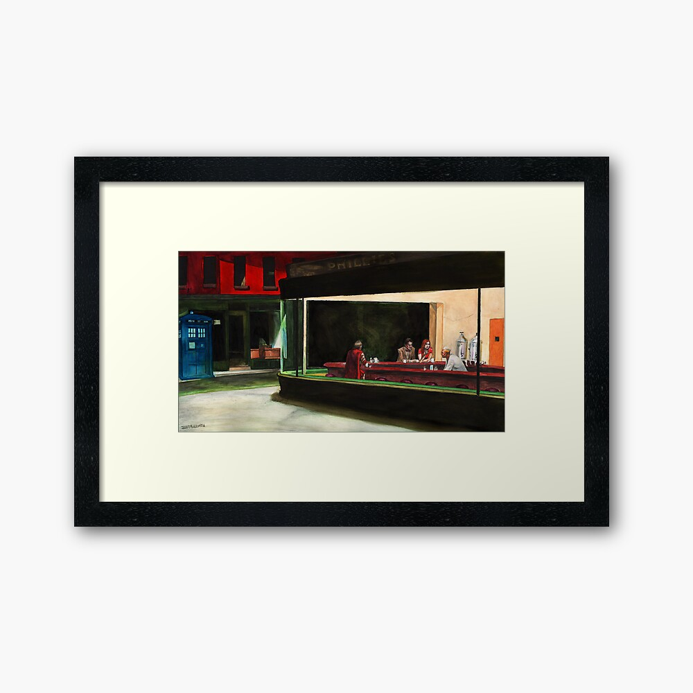 Night-Docs Framed Art Print