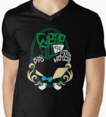 We're all mad here Men's V-Neck T-Shirt