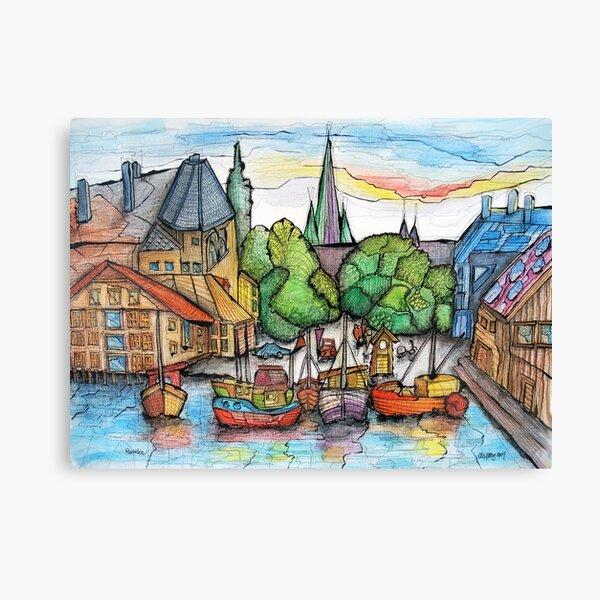 Trondheim - Norway I Canvas Print