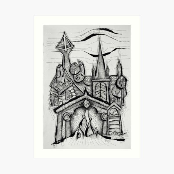 Trondheim - Norway III Art Print