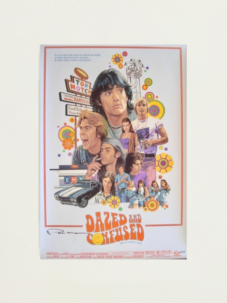 Alternate view of Dazed and Confused  Photographic Print