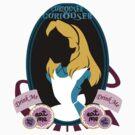 """Curiouser"" Sticker   by Nados"