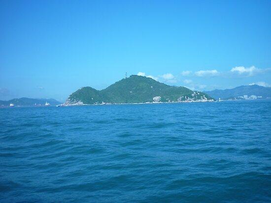 A tiny little island by Joseph Green