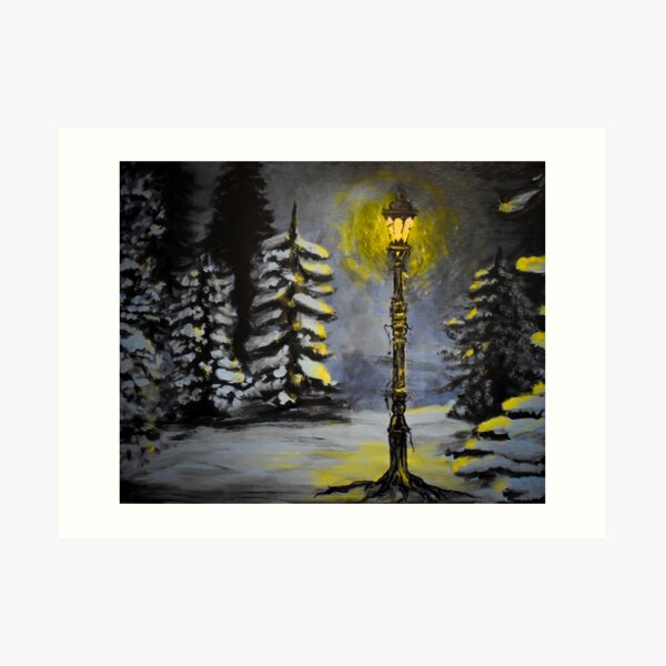 Magic in the Snow Art Print