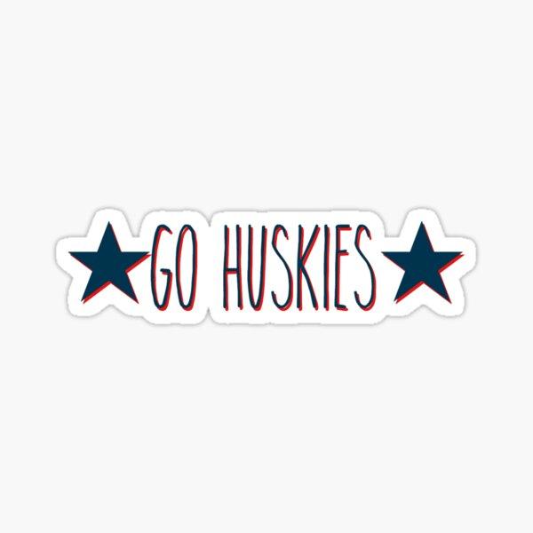 Go Huskies Sticker