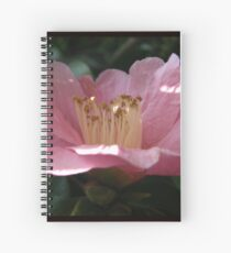 Crumpled Flower Spiral Notebook