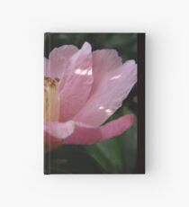 Crumpled Flower Hardcover Journal