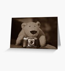 TC is a photographer too Greeting Card