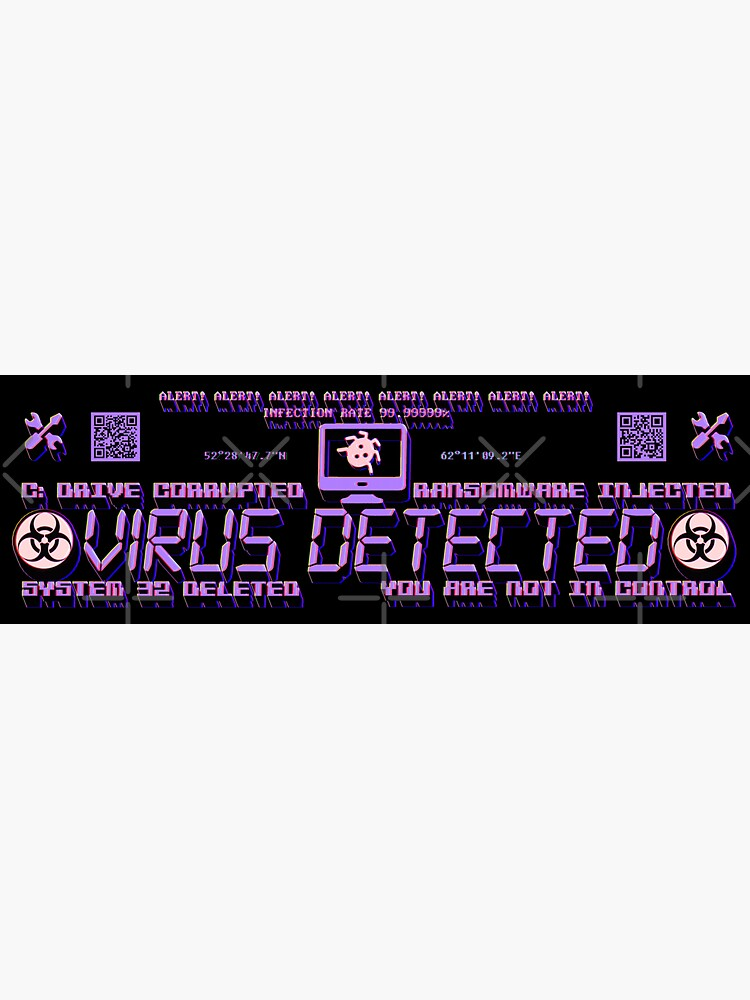 VIRUS DETECTED by omfgtimmy