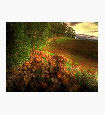 Rocky Road Photographic Print