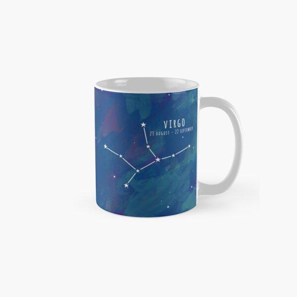 Cosmic Starsign Astrology Constellation - Virgo Classic Mug