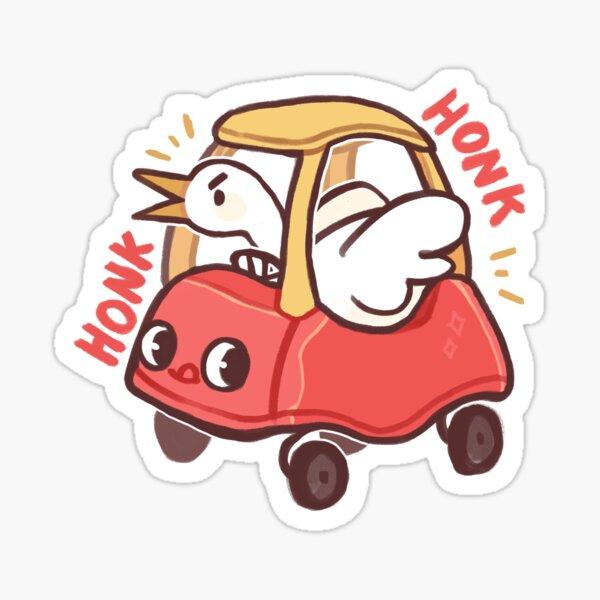 Untitled goose Toy car Sticker