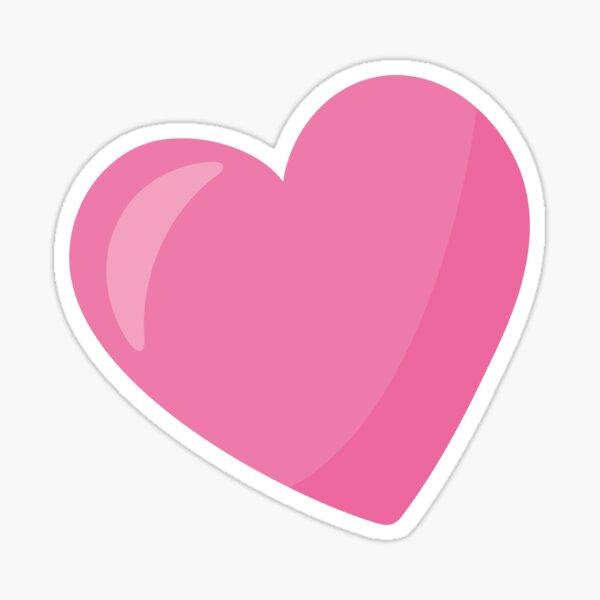Valentines Day Pink Heart Is So Pretty Sticker