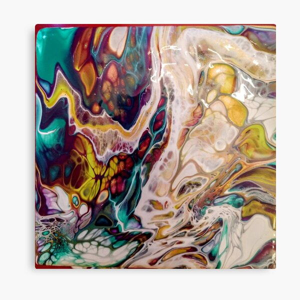 Controlled Chaos Metal Print