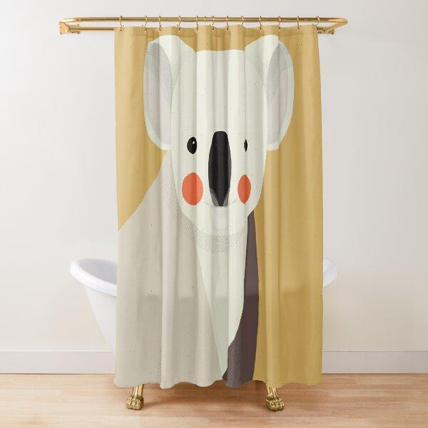 Koala, Animal Portrait Shower Curtain