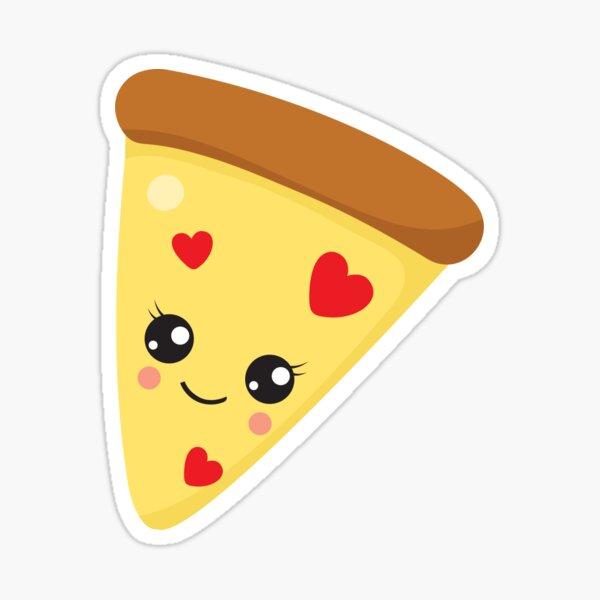 Valentines Day Pizza Affair Sticker