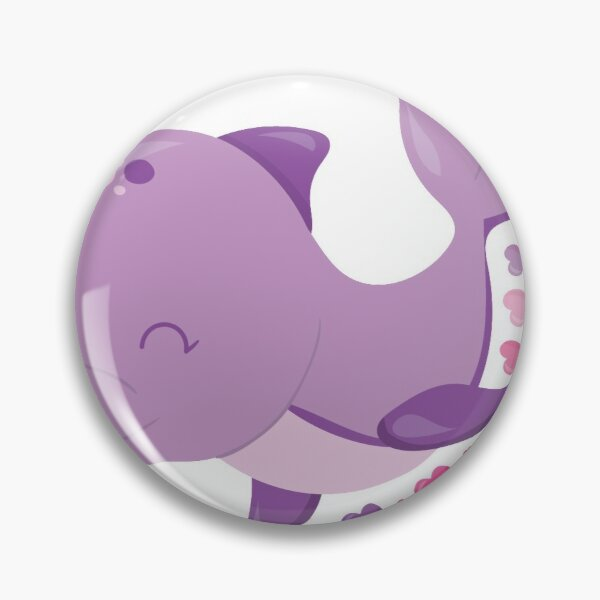 Valentines Day Whale We Have A Good Time Pin