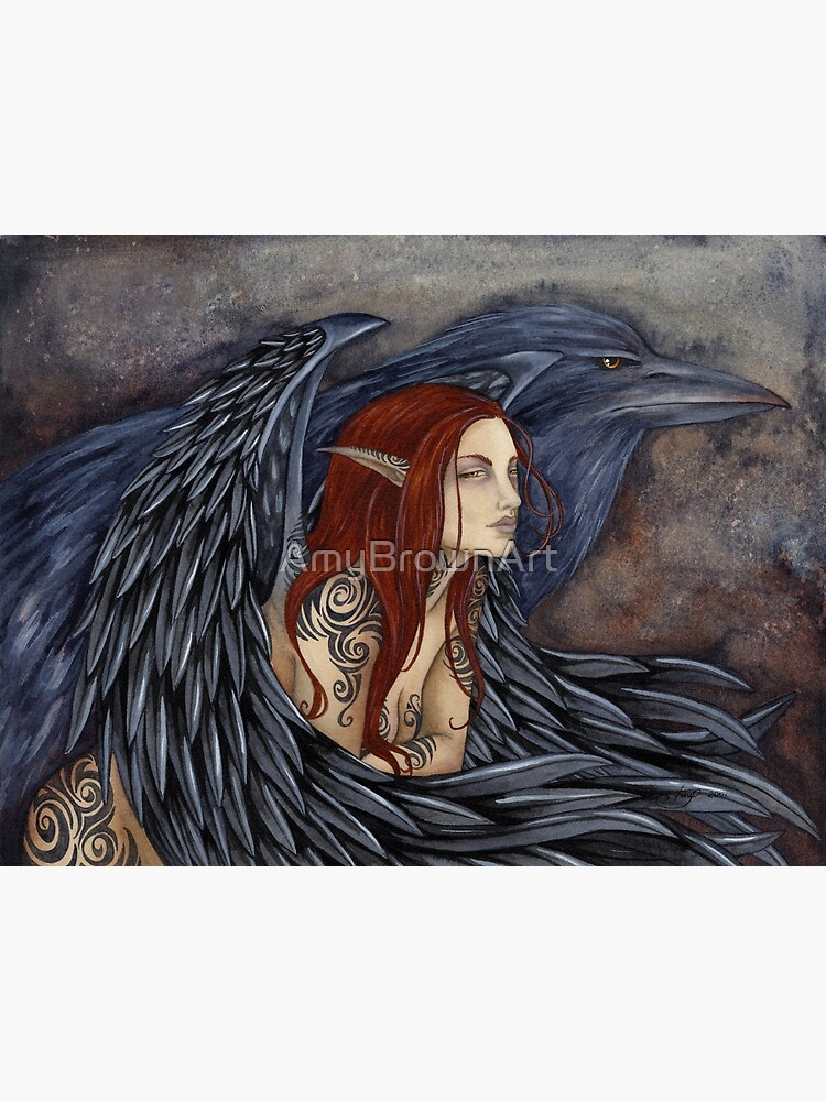 The Morrighan by AmyBrownArt