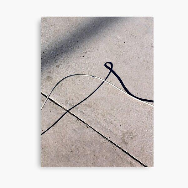 Loopy Shadow Canvas Print