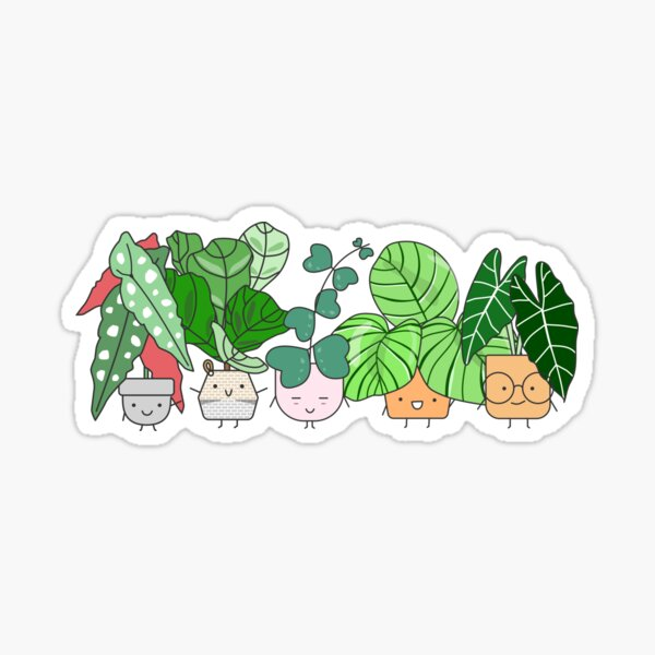 My Plant Amigos Sticker