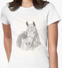 Arabian Stallion Women's Fitted T-Shirt