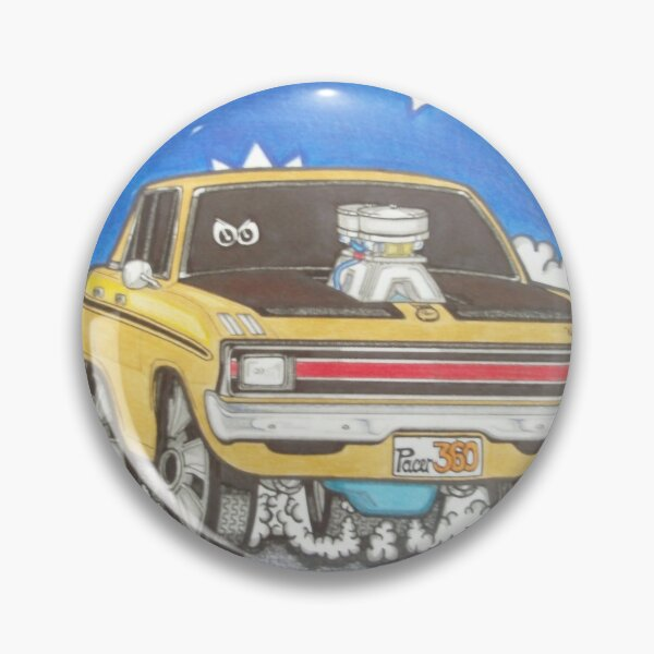 Badge VG Hemi Pacer Chrysler Valiant Green Sedan Quality Metal Lapel Pin